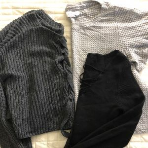 Fall Monochromatic Sweater Bundle